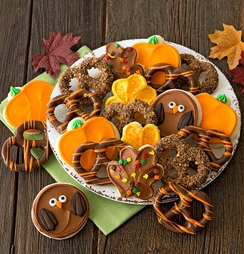 Cheryl's Autumn Cookie and Pretzel Gift