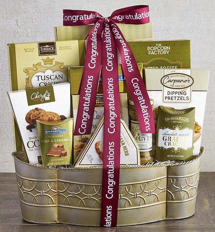 Grand Congratulations Gift Basket - Grand Congratulations Gift Basket