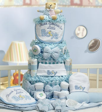 Grand Baby-Cakes Boy Essentials - Deluxe Baby-Cakes Boy Essentials