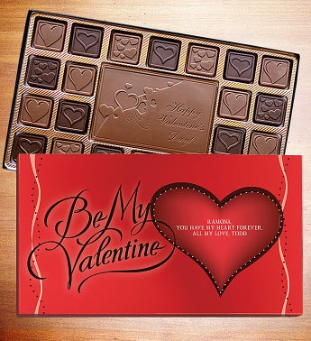 Happy Valentines Day Personalized Chocolate Box - Happy Valentines Day Personalized Chocolate Box
