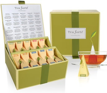 Tea Forte® Tea Chest Classic Blends Collection - Tea Forte® Tea Chest Classic Blends