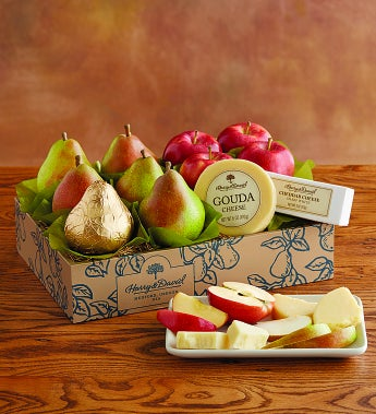 Harry And David® Pears, Apples & Cheese Gift - Pears, Apples & Cheese Gift