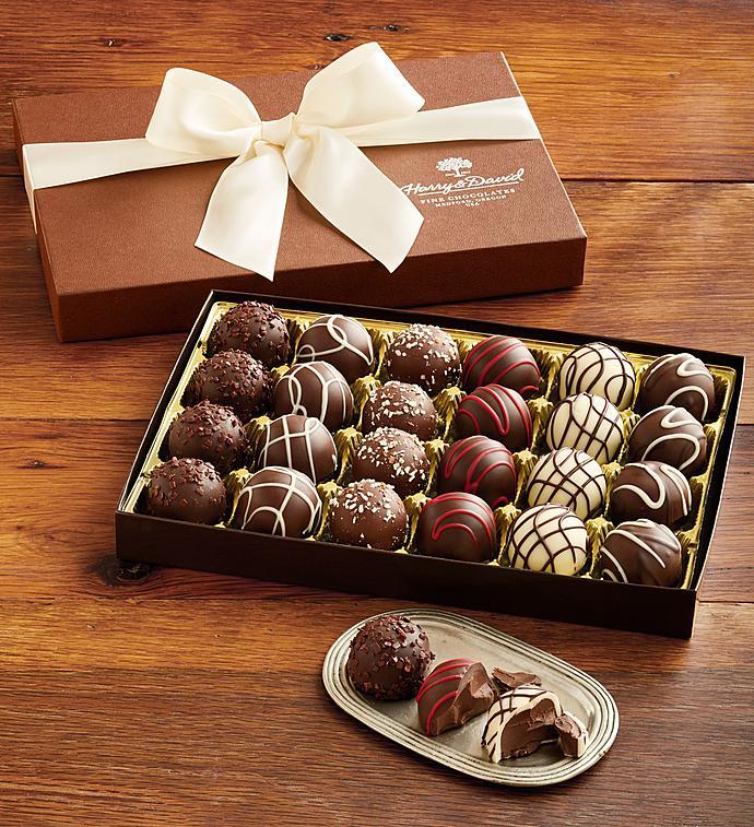 Harry And David® Signature Chocolate Truffles - Harry And David® Signature Chocolate Truffles