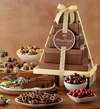 Harry And David® Tower Of Chocolates Gift - Harry And David® Tower Of Chocolates Gift - Deluxe