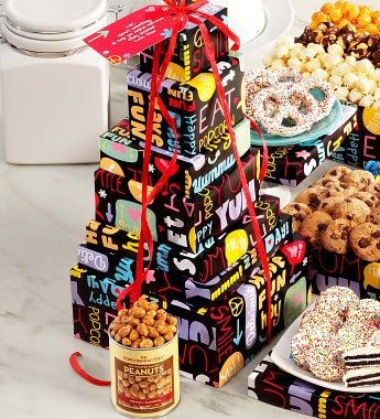 The Popcorn Factory Fun With Snacks Tower - The Popcorn Factory Fun With Snacks Tower - 6 Tier