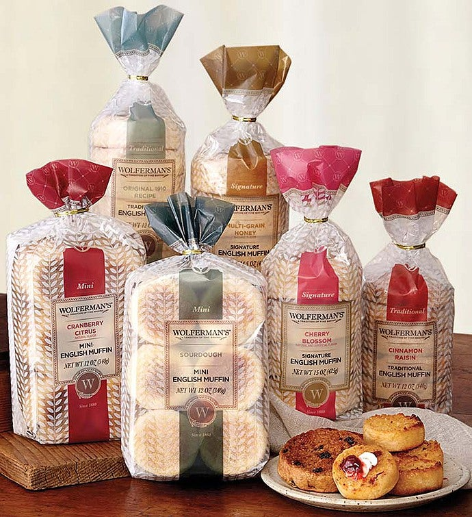 Wolferman's English Muffins Assortment