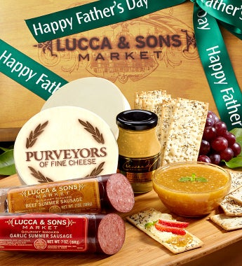 Lucca & Sons Sausage & Cheese Box
