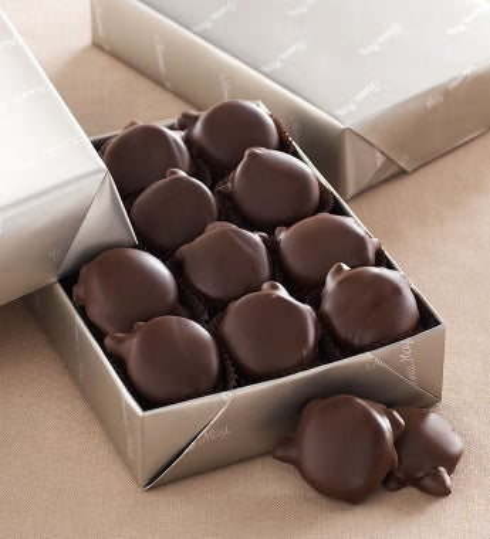 Fannie May® Pixies® Chocolates -Fannie May® Pixies® Chocolates - 1 Lb Dark