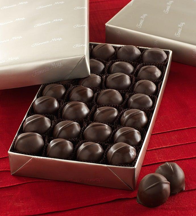 Fannie May® Vanilla Buttercream Chocolates - Fannie May® Buttercreams - Dark 1 Lb