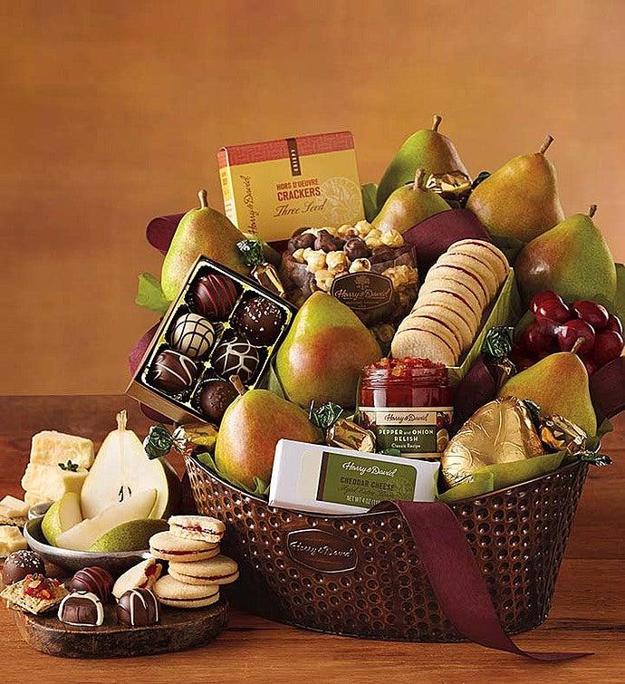 Harry And David® Favorites Gift Basket - Harry And David® Favorites Gift Basket - Deluxe
