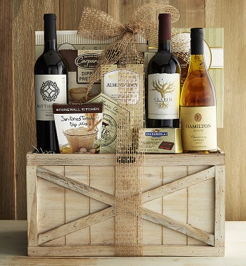 Exceptional Selections Rustic Wine Trunk - Exceptional Selections Rustic Wine Trunk