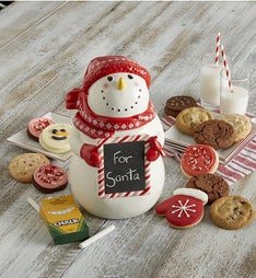Cheryl's Collector's Edition Snowman Cookie Jar