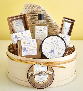 Simply Honey & Lavender Spa Gift Box