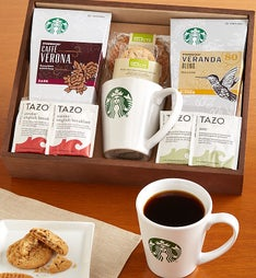 Starbucks Coffee Break Gift Crate