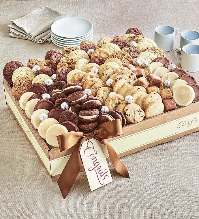 Cheryl's Classic Congrats Dessert Tray -Cheryl's Classic Congrats Dessert Tray - Grand