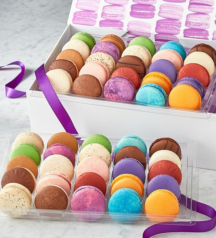 Macarons -50 Pc Box - Deluxe