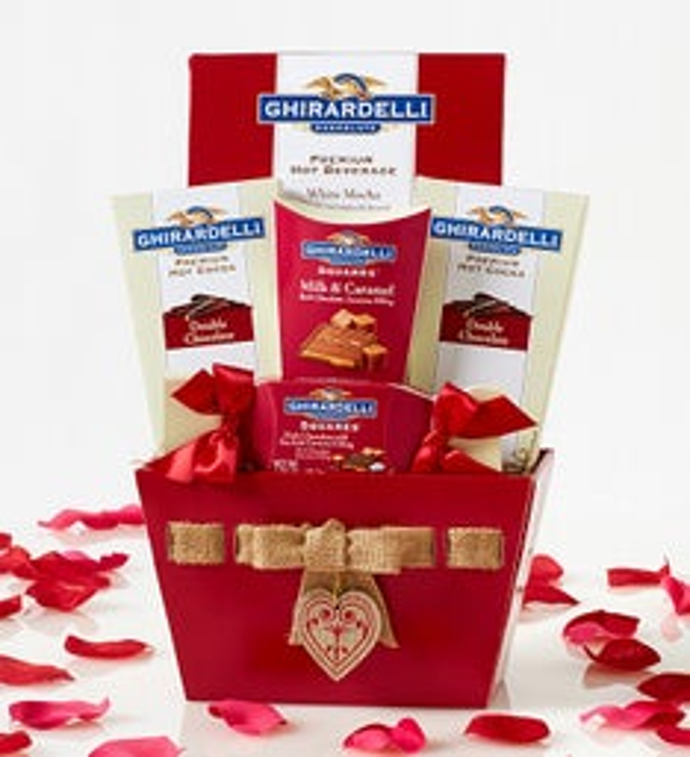 Valentine Chocolates Basket