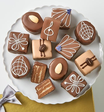 Decadent Chocolate Petits Fours - Decadent Chocolate Petits Fours - Classic 12Ct