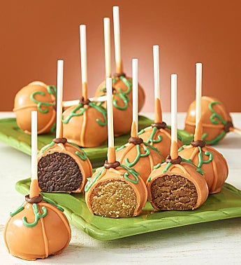 Pumpkin Fall Cake Pops