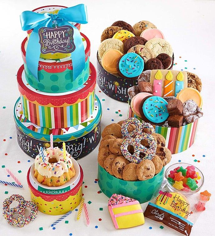 Cheryl's Wish Big! Birthday Gift Tower - Cheryl's Wish Big! Birthday Cake Tower