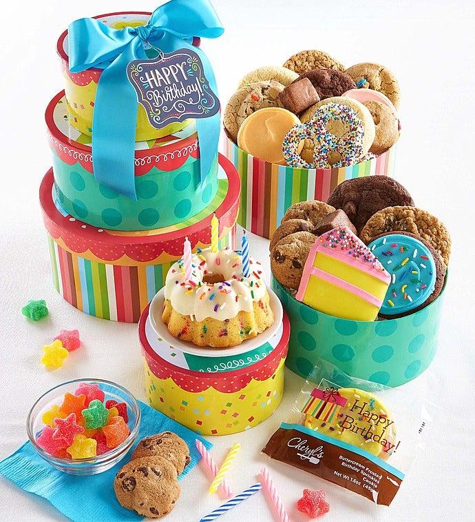 Cheryl's Wish Big! Birthday Gift Tower - Cheryl's Wish Big! Birthday Gift Tower