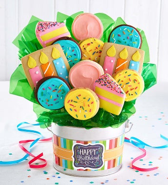 Cheryl's Wish Big! Cookie Flower Pot