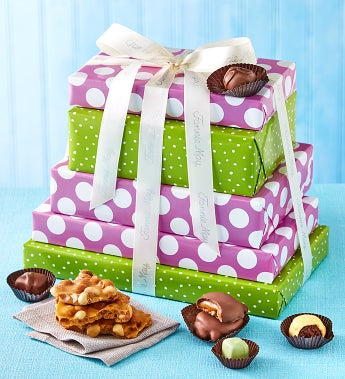 Fannie May Spring Chocolates Tower