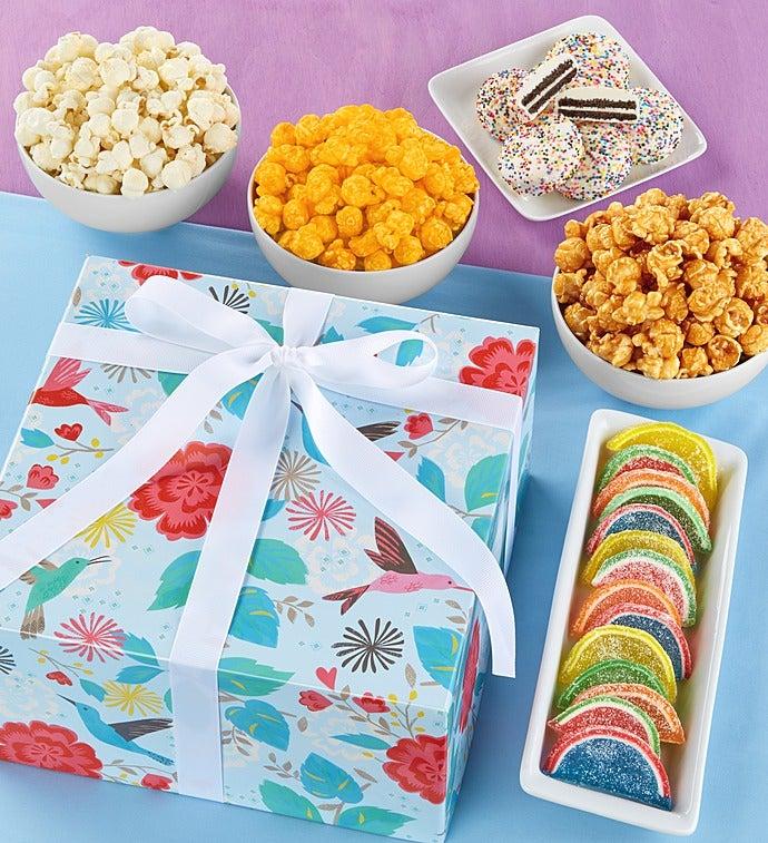 Popcorn Factory Hummingbird Garden Sampler - Popcorn Factory Hummingbird Garden Sampler