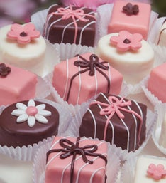 Spring Blossoms Petits Fours