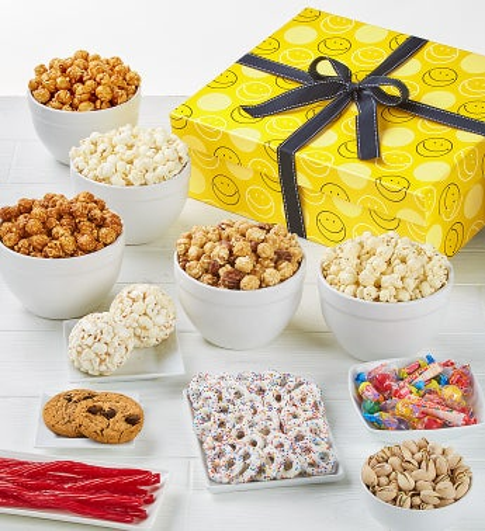 The Popcorn Factory Smiley Dot Sampler-The Popcorn Factory Smiley Dot Sampler-Jumbo