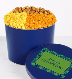 Popcorn Factory Father's Day 4 Way Tin