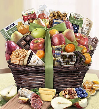 Distinctive Fruit & Sweets Gift Basket