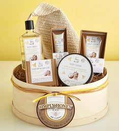 Simply Honey & Coconut Spa Gift Box