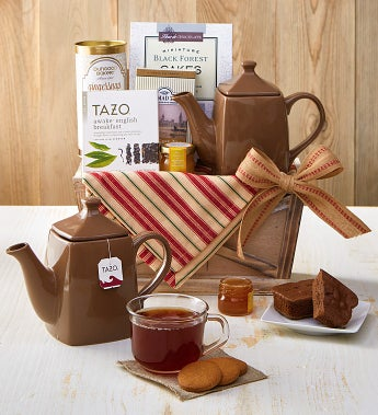 Wintry Warmer Holiday Tea Gift Basket - Wintry Warmer Holiday Tea Gift Basket