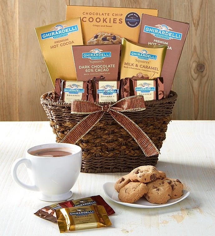 Best Of Ghirardelli Gift Basket - Best Of Ghirardelli Gift Basket