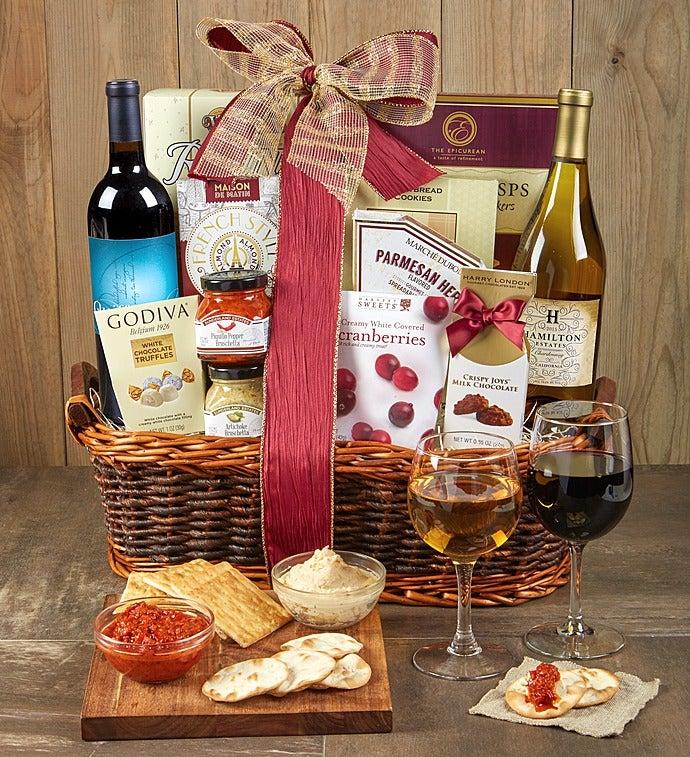 Sommelier's Choice Wine Gift Basket - Sommelier's Choice Wine Gift Basket