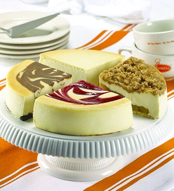 Best Of Junior's 4-Flavor Cheesecake Sampler by 1-800-Baskets - Gift Basket Delivery