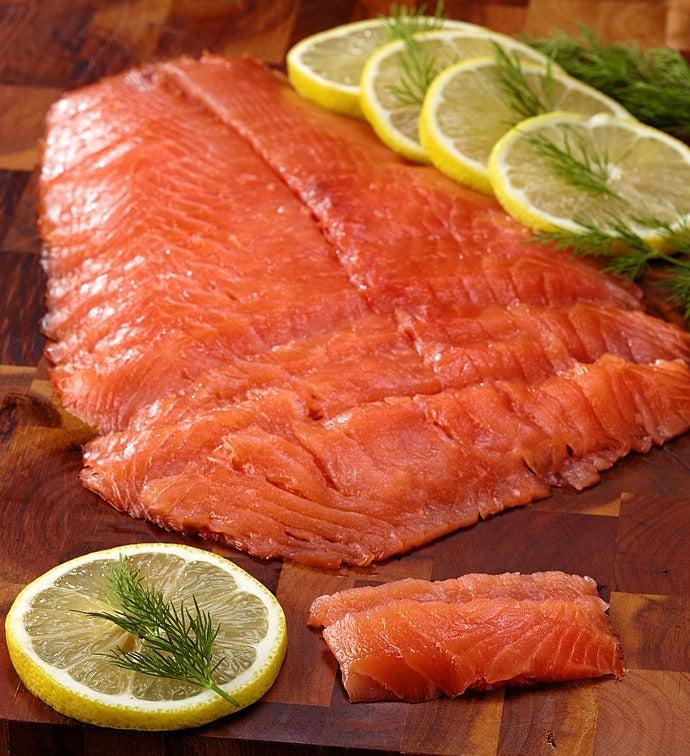 Wild Alaskan Smoked Sockeye Salmon