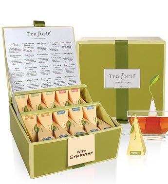 With Caring Concern Tea Forte® Tea Collection - With Caring Concern Tea Forte® Tea Collection
