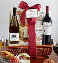Fruitful Vineyards Sympathy Wine Gift Basket