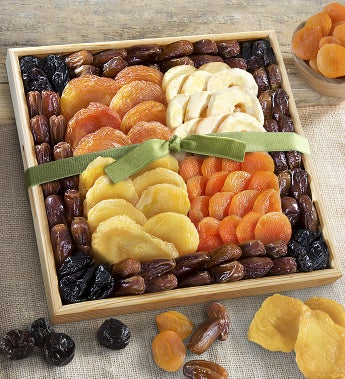 Mosaic Premium Dried Fruit Tray by 1-800-Baskets - Gift Basket Delivery