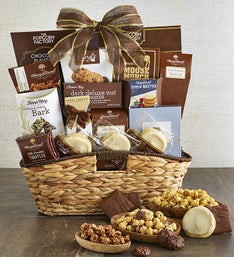 Mothers day gift baskets mothers day gifts food 1800baskets premier favorites sweets treats gift basket negle Choice Image