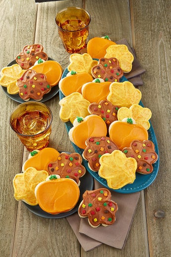 Cheryl's Fall Frosted Cut-Out Cookies - Cheryl's Fall Frosted Cut-Out Cookies 72 Count