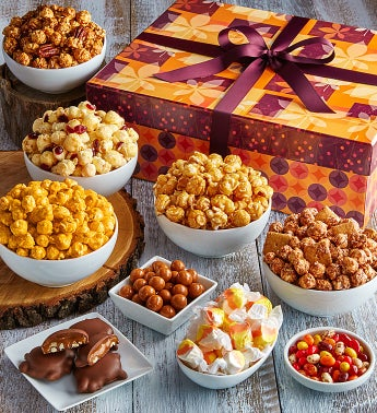The Popcorn Factory Fall Splendor Jumbo Sampler