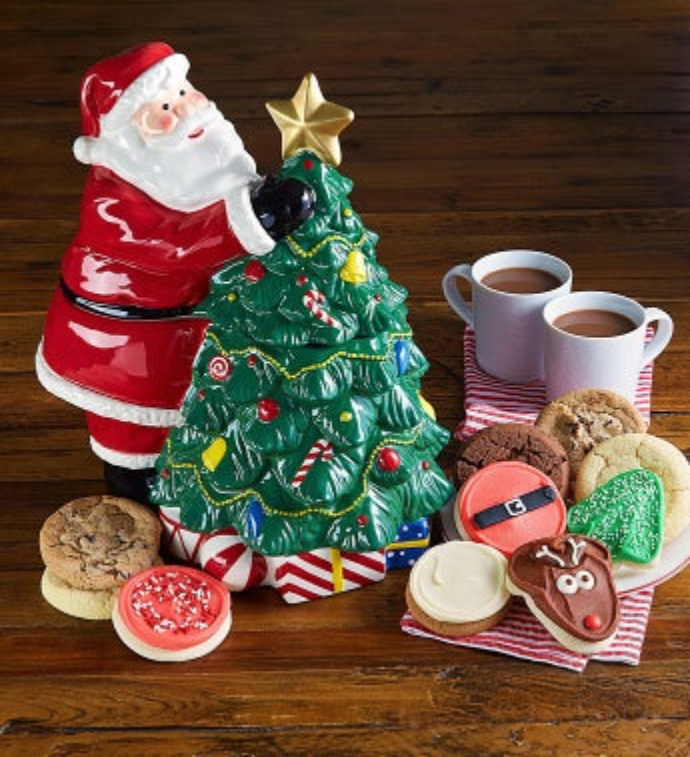 Cheryl's Collector's Edition Santa Cookie Jar - Cheryl's Collector's Edition Santa Cookie Jar