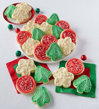 Cheryl's Holiday Frosted Cut-Out Cookies - Cheryl's Holiday Frosted Cut-Out Cookies 36 Count