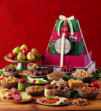 Harry & David® Holiday Tower Of Treats® - Holiday Tower Of Treats® - Ulltimate Celebration