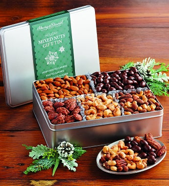 Harry & David® Holiday Nut Tin - Harry & David® Holiday Nut Tin