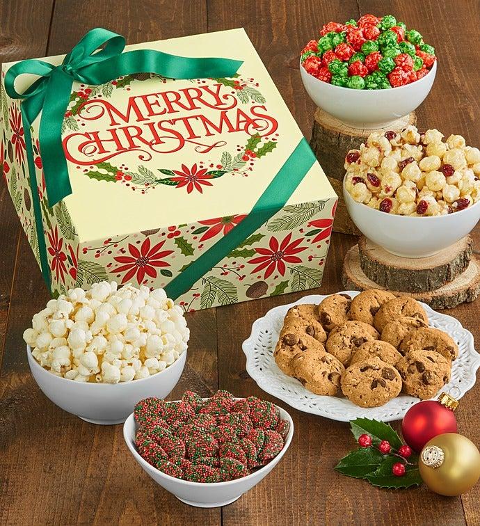 The Popcorn Factory Merry Christmas Sampler - The Popcorn Factory Merry Christmas Sampler
