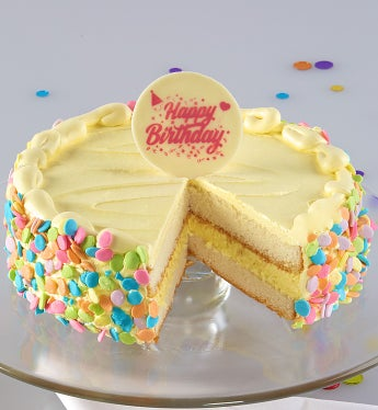 Bake Me A Wish! Vanilla Bean Birthday Cake - Bake Me A Wish! Vanilla Bean Birthday Cake